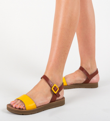 Sandale Xadia Galbene