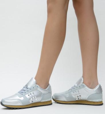 Pantofi Sport Beny Argintii