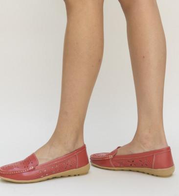 Pantofi Casual Debar Rosii