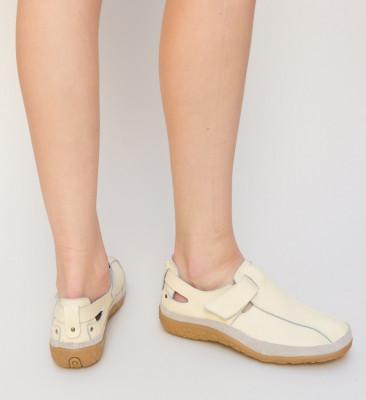 Pantofi Casual Teos Bej