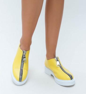 Pantofi Casual Beuda Galbene