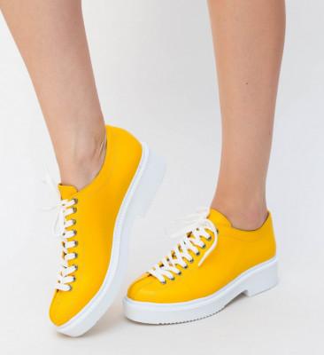 Pantofi Casual Verte Galbene