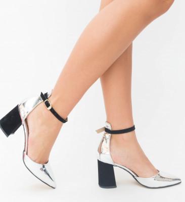 Pantofi Alio Argintii 2