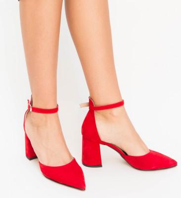 Pantofi Alio Rosii