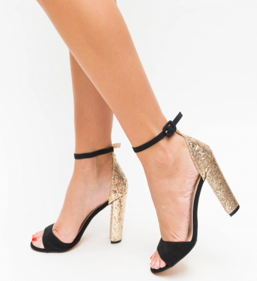 Sandale Romaniuc Negre 2