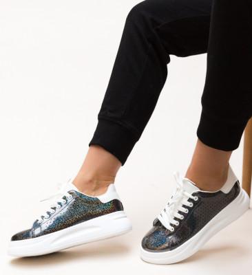 Pantofi Sport Glittery Negri 2