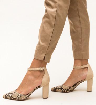 Pantofi Cupra Bej