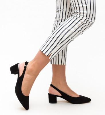 Pantofi Khalil Negru