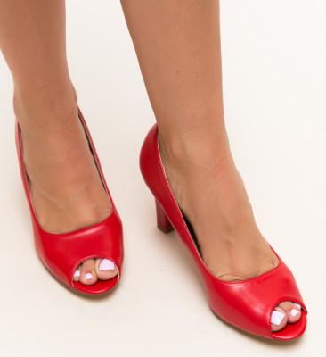 Pantofi Kofi Rosii