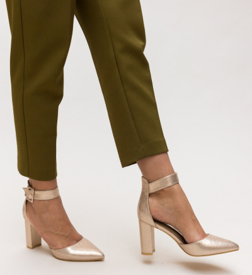 Pantofi Taylor Aurii