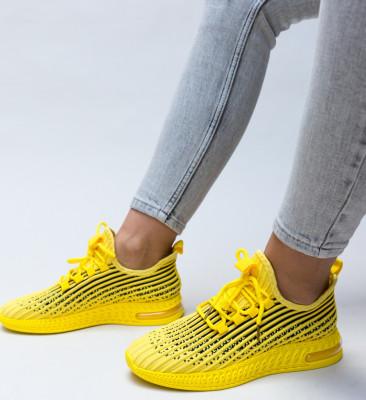 Pantofi Sport Samir Galbeni 2