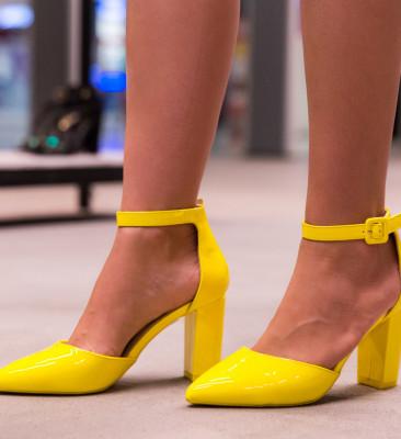 Pantofi Tillman Galbeni