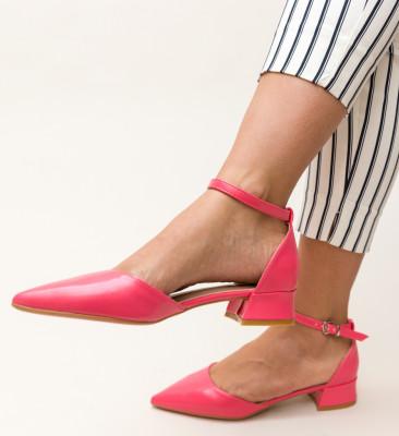 Pantofi Barrera Roz 2