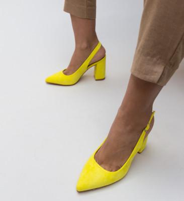 Pantofi Snider Galbeni