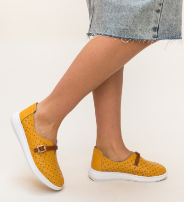 Pantofi Casual Vicez Galbeni