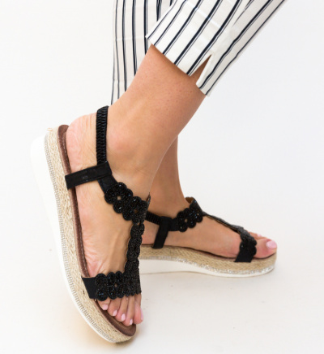 Sandale Tiana Negre