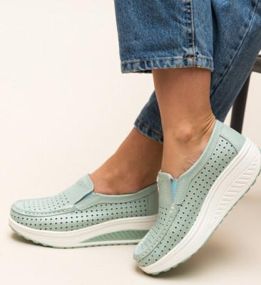 Pantofi Casual Bicaz Turcoaz
