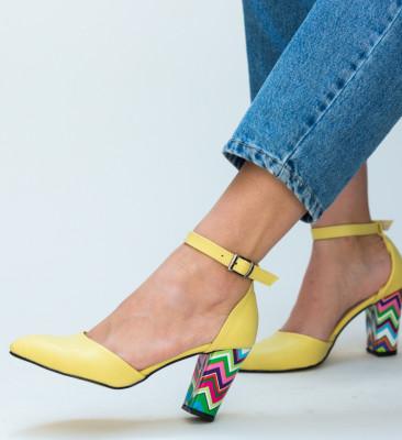 Pantofi Muzli Galbeni