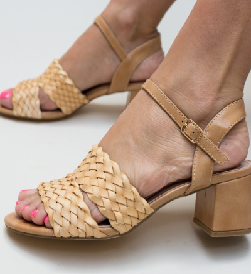 Sandale Nieve Bej