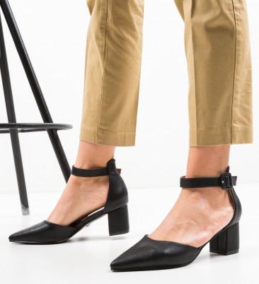 Pantofi Anabero Negri