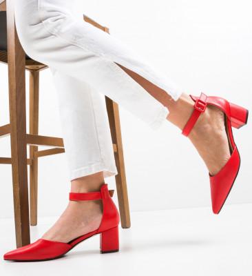 Pantofi Anabero Rosii