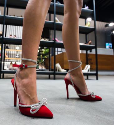 Pantofi Bark Rosii
