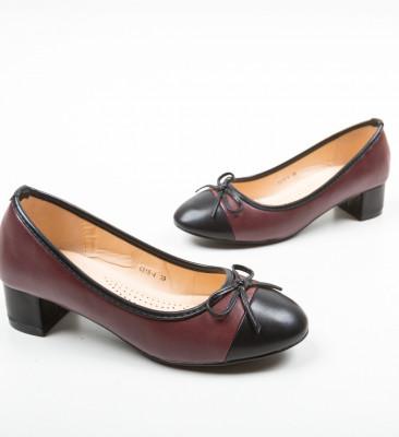 Pantofi Calhou Grena