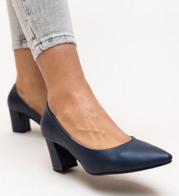 Pantofi Carl Bleumarin