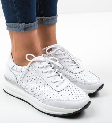 Pantofi Casual Aariz Albi
