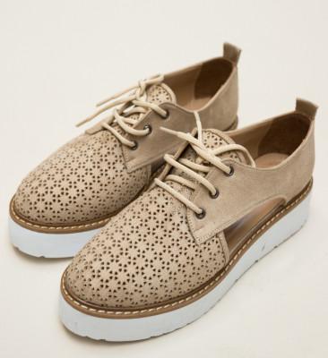 Pantofi Casual Ardilen Bej