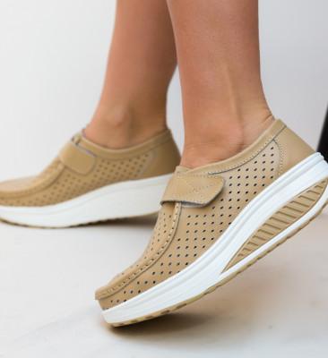 Pantofi Casual Bozta Bej