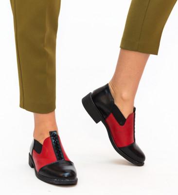 Pantofi Casual Brenna Rosii