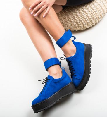 Pantofi Casual Brosky Albastri