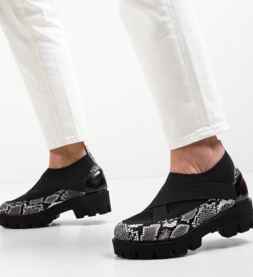 Pantofi Casual Buse Negri 3