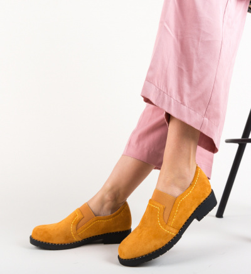 Pantofi Casual Correa Camel