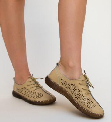 Pantofi Casual Crawler Bej