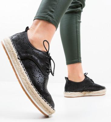 Pantofi Casual Cromos Negri