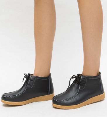 Pantofi Casual Defendo Negri