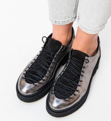 Pantofi Casual Derin Gri