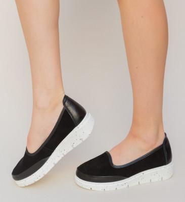 Pantofi Casual Dole Negri 2
