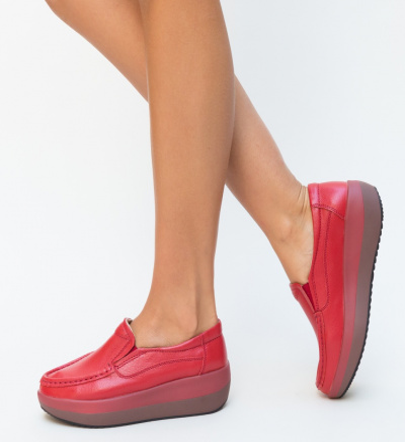 Pantofi Casual Ember Rosii