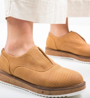 Pantofi Casual Gonaf Camel