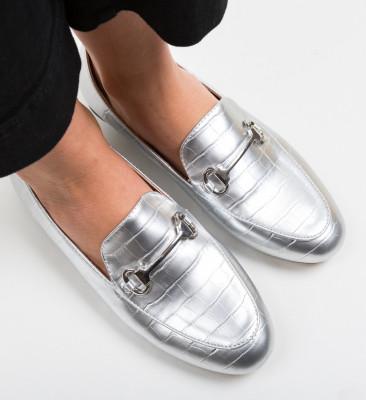 Pantofi Casual Gota Argintii