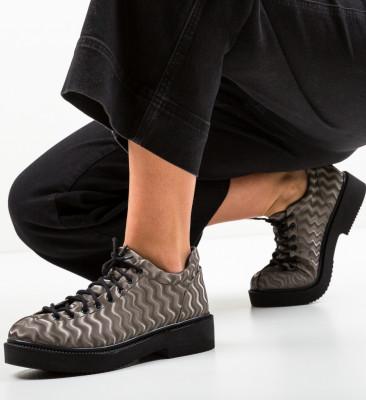 Pantofi Casual Graskol Gri