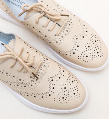 Pantofi Casual Indigo Bej