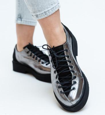 Pantofi Casual Janos Gri