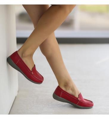 Pantofi Casual Leida Rosii