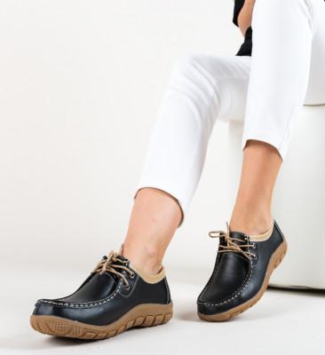 Pantofi Casual Macias Negri