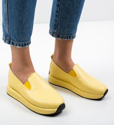 Pantofi Casual Malter Galbeni