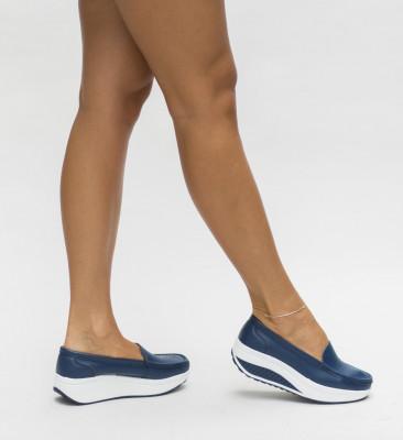 Pantofi Casual Musta Bleumarin